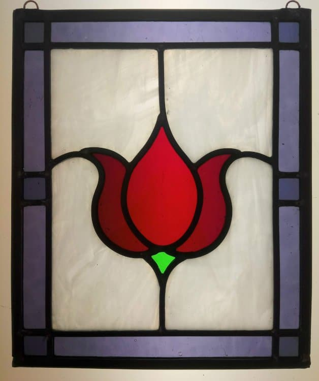 Stained Glass Course Tulip