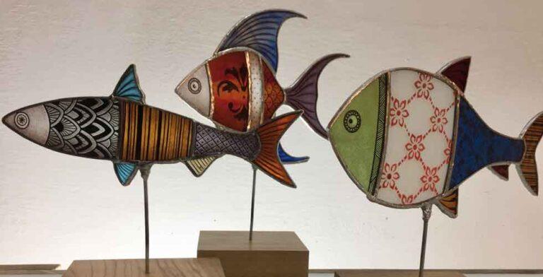 Pesci di Vetro IKO Studio