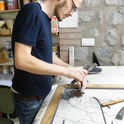 Corso di Vetrate Artistiche Lorenzo