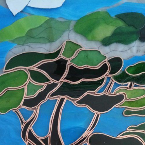 Corso Vetrate Tiffany Albero Verde