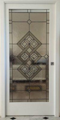 Geometric style door