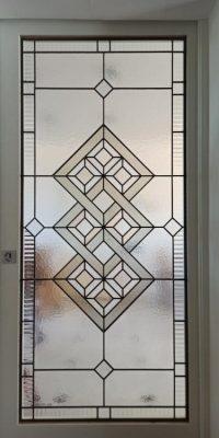 Geometric design door